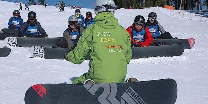 Snowboardkurs Kinder