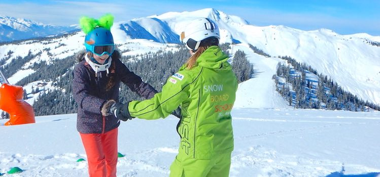 Snowboardkurs Zell am See