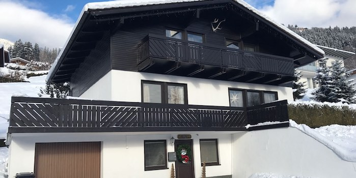 chalet on the rood