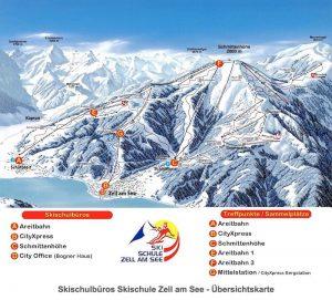 Skischule Zell am See - Büros
